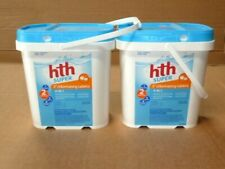 2 BUCKETS HTH SUPER Chlorinating Chemicals 3