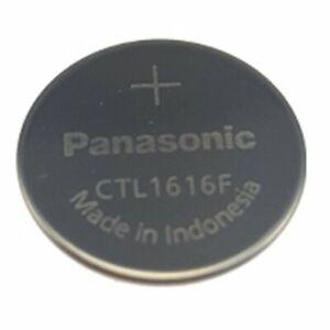 Panasonic Knopfzellen-Akku CTL1616 für Casio Solar Uhren NEU