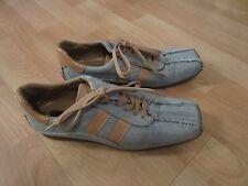 Schnürer Gr. 37 37,5  Jeansblau Blau Sneaker Damen Schuhe Bullboxer