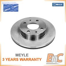 2x FRONT BRAKE DISC FOR NISSAN MEYLE OEM 4020658A01 36155210011 HEAVY DUTY