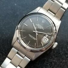 ROLEX Men's Oyster Perpetual Date 1501 Automatic, c.1965 Swiss Vintage LV765