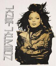 Xl * Nos thin vtg 1990 Janet Jackson t shirt