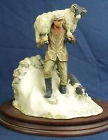 Border Fine Arts figure WINTER RESCUE JH41 All Creatures Great & Small