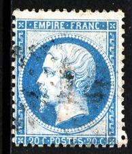 FRANCE 22 VARIETES: point entre S et T, cadre N brisé. Bleu clair. TRES BEAU.