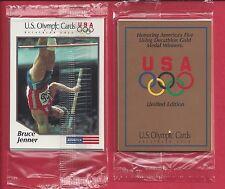 1991 US OLYMPIC DECATHLON GOLD SINGLE WAX PACK