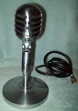 Electro Voice 950 Cardax Chrome Microphone w/ 423 A Stand Cord Untested cb ham