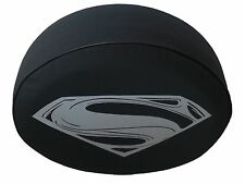 "SpareCover® Brawny Series Superman Man of Steel 32"" Tire Cover 4 Wrangler H3 FJ"