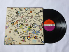 DEL ZEPPELIN ~ III ~ RARE MATRICE ~ A-5 B-5 & GHC ~ UK Peter Grant 1ST VINYL LP