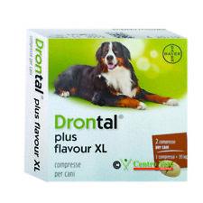 Bayer vermifugo antiparassitario XL-Combatte parassiti intestinali dei cani