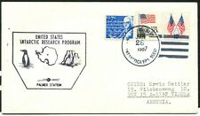 USA - 1987 'PALMER STATION' ANTARCTIC RESEARCH  + PENGUIN Cachet  [A6647]