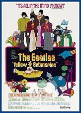 Yellow Submarine   1960's Movie Posters Classic Cinema