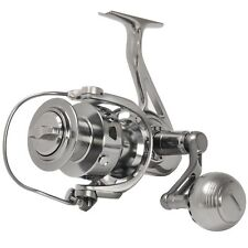 SALTWATER CNC MACHINED FULL METAL SPINNING FISHING REEL 17KG 20KG 30KG DRAG