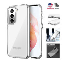 For Samsung Galaxy S21+ Plus Ultra Slim Shockproof Case Clear TPU Bumper Cover