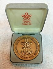 1988 Calgary Olympic Athlete's Participation Medal with Original Box