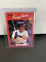 Donruss 1990 Tracy Jones Detroit Tiger Card Super Rare Mint