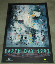 EARTH DAY 1993: ORIGINAL COLOR POSTER BY MARCELLIN DUFOUR