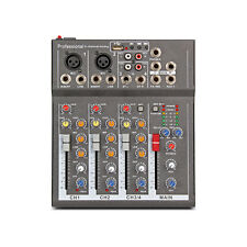 4 Channel PA Mixer with Effects Delay USB
