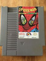 Spider-Man Return of the Sinister Six Nintendo Nes Cleaned & Tested Authentic