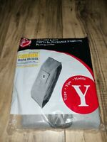 NEW Hoover Type Y Carbon Activated HEPA Vacuum Bags PART# 902481001 #AH10165