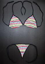 Sexy G-STRING BIKINI Patterned Swimming Costume Ladies Clothing Thong Swimsuit