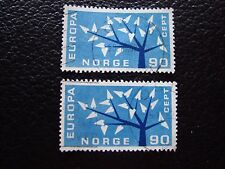 NORVEGE - timbre yvert et tellier n° 434 x2 obl (A30) stamp norway (A)