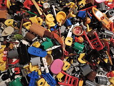 LEGO 50 x Figuren Zubehör Werkzeug Waffen Becher Koffer Schilde Tassen Skier etc