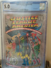 JUSTICE LEAGUE OF AMERICA #53 CGC 5.0 GREEN LANTERN FLASH BATMAN SUPERMAN