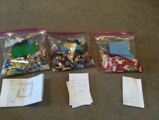 Lego Friends Set #3061 & 3189 & 41075 Incomplete With some Mini Figures