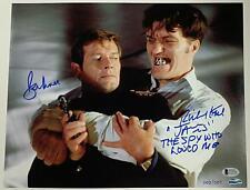 ROGER MOORE RICHARD KIEL Signed James Bond 11x14 Photo # /007 ~ Beckett BAS COA