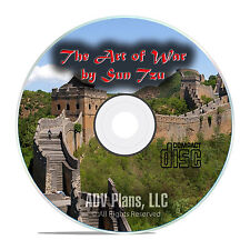 The Art of War by Sun Tzu, Classic Audiobook, Chinese Military Treatise CD E86