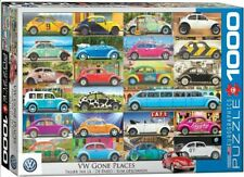 Eurographics Puzzle 1000 Piece Jigsaw - VW Beetle Gone Places 	 EG60005422
