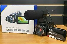 Video Camera CamcorderNight Vision FHD 1080P 30FPS YouTube Vlogging Recorder