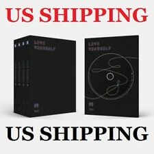 US SHIPPING BTS-[Love Yourself 轉 Tear]3rd RAN Album CD+Poster+etc+Pre-Order+Gift