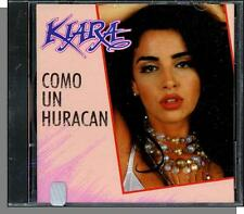 Kiara - Como Un Huracan - New, Ultra Rare 1992, 12 Song Spanish CD!