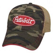 Peterbilt Motors Trucks Camouflage Camo Mesh Sandwich Visor Cap/Hat