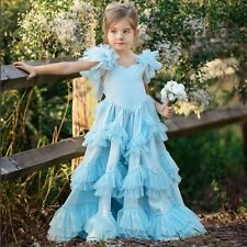 NEW Dollcake Sweetly in the Trees Blue Frock  Dress sz 10 Party Holiday Special