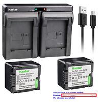 BATERIA para Panasonic hc-v700mgk hc-v700mk hc-v707 hc-v707eg-k con chip info