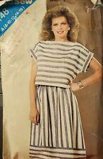 Vtg Butterick See & Sew pattern 5148 Misses' Top & Skirt sz 8, 10, 12, 14, 16