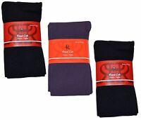 Royal Cult Women/'s 3 Pack Skinny Fit Fleece Tights Medium//Large