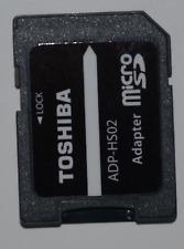 Toshiba 2x SD Adapter für 8 16 32 64 128 GB MicroSD microSDHC SDXC Speicherkarte