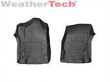 WeatherTech Custom Car/Truck Floor Mats FloorLiner 446071 1st Row 2-Piece Black