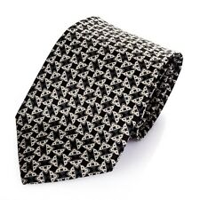 Brioni Igloo Shape Pattern Necktie Made in Italy high quality Silk Tie