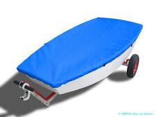 Optimist Sailboat - Boat Deck Cover - Blue Sunbrella Top Cover