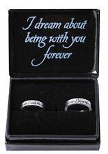 TWILIGHT - Lion & Lamb Boxed Jewellery Pewter Ring Set (NECA) #NEW