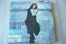 """MIRANDA MARTINO""""Se io fossi come te-disco 45 giri RCA Italy 1967 COLONNA SONORA"""""""