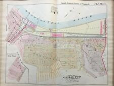1900 PITTSBURGH PA, MIFFLIN & BALDWIN TOWNSHIPS WATSON ST - HAYES ST. ATLAS MAP