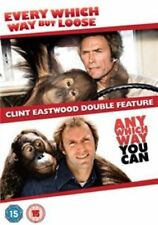 Every Which Way but Loose Any You Can Clint DVD Region 2 UK Release