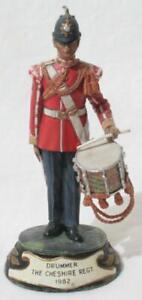 Superb BPC Pewter Figure Charles C Stadden - Drummer The Cheshire Regt 1982