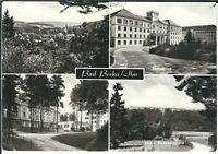 Ansichtskarte Bad Berka - Zentralklinik, Dambachsgrund - schwarz/weiß