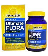 Renew Life, Ultimate Flora Probiotic, Extra Care, 50 Billion, 90 Veggie Caps